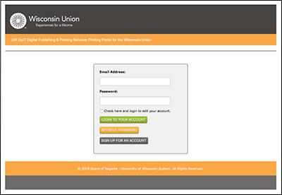 UW Leadership Print Portal