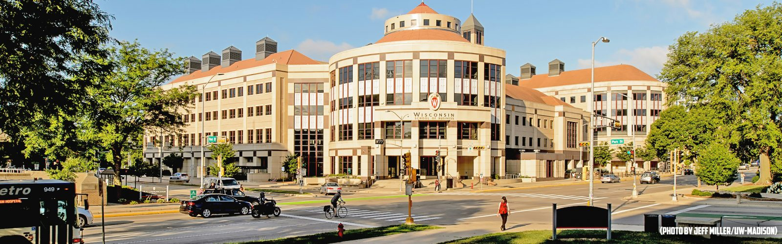 Photo of the School of Business Grainger Hall